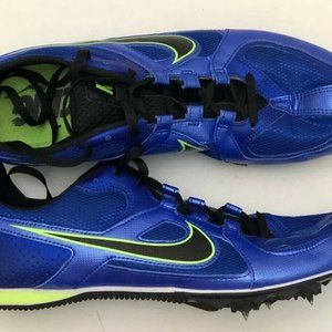 Nike Zoom Rival MD 6 Royal Blue Running Spikes 468